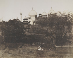 Taj from the South-East, [Agra]